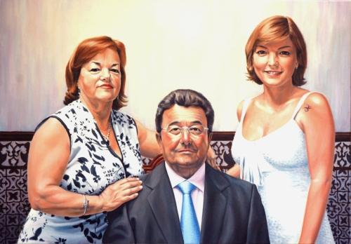 Spaanse familie